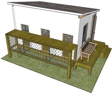 pigeon loft plans